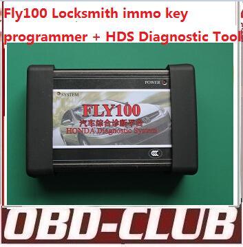 2015 Orignal FLY100 forhonda hds fly 100 full locksmith immo key programmer V3.012.031(2014-1-15) fly-100 no need password DHL