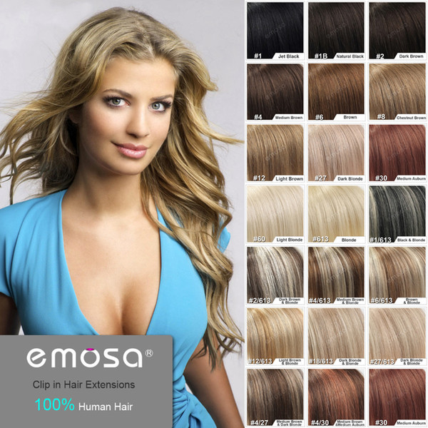 Cheap 16 18 20 22 26 full head remy clip in human hair extension 16 18 20 22 26 full head remy clip in human pmusecretfo Choice Image