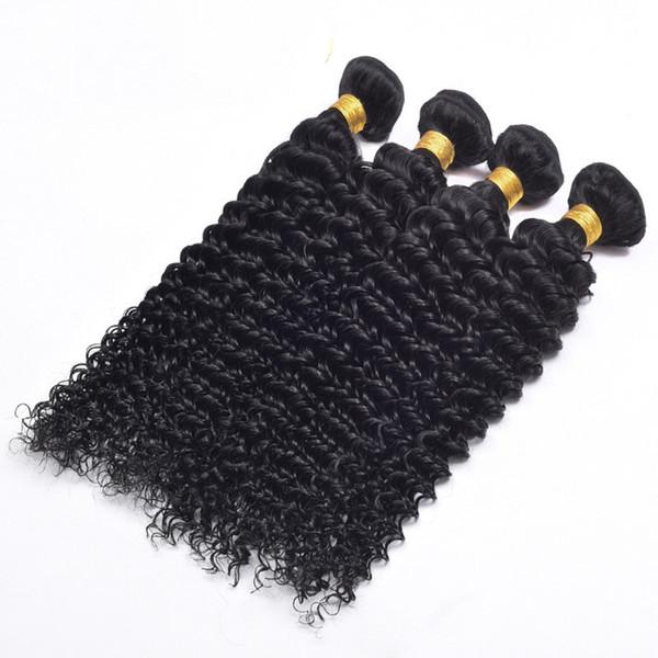 7A Grade --Length 12-28 inches deep wave hair weft 100% Human virgin brazilian Hair bundle 60g/pcs 5pcs/lot , DHL free