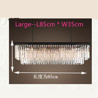Transparent L85cm W20cm