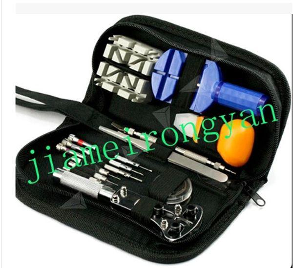 Case Opener Remover Adjuster Repair Tool Set free shipping 13 pcs watch repair tool 13pcs for a set watch and clock Watch repair tool kits