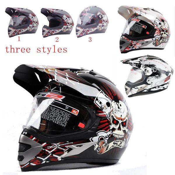 best selling LS2 MX433 skynet Motorcycle Helmet full face helmet motocross Moto Racing Off road helmet color size L XL XXL