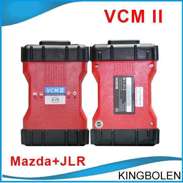 High Quality Best Selling VCM II Mazda & JLR VCM2 2 in 1 Mazda Jaguar Land Rover Diagnostic Scanner V96 V141 DHL/Post Free Shipping