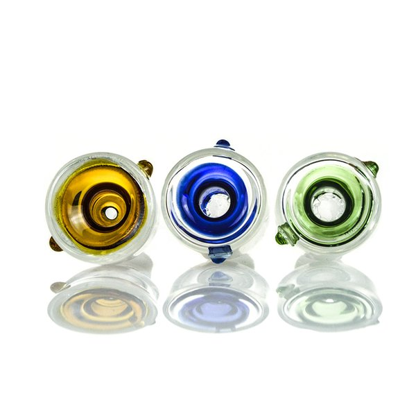 Best Popular Items In 2016 Smoking Bongs Accessories Green Blue Orange Bowl Oil Rigs Water Pipes SC05