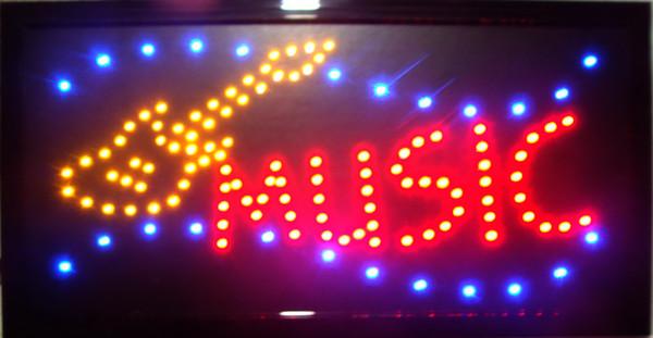 nouveau design en arrivant personnalisé led led signes lumineux néon musique signes led salle de musique enseignes au néon jaune guitare