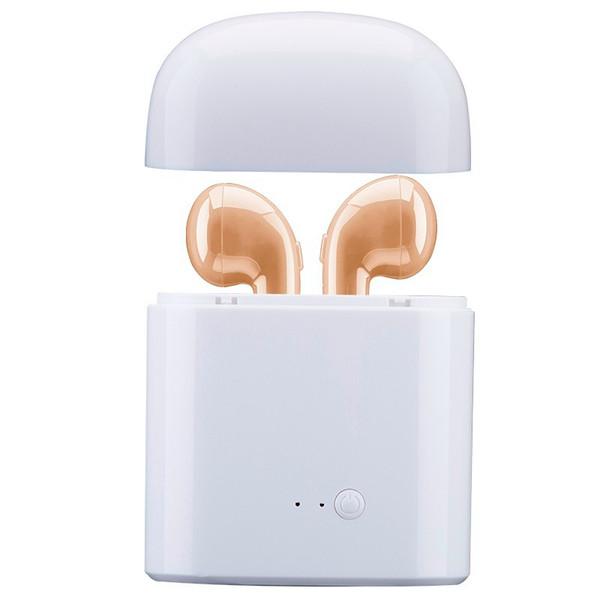 NewI7S سماعات بلوتوث اللاسلكية سماعات ستيريو في الأذن سماعة الهواء ميكروفون سماعة القرون سدادات سماعة الهاتف الملحقات سدادات