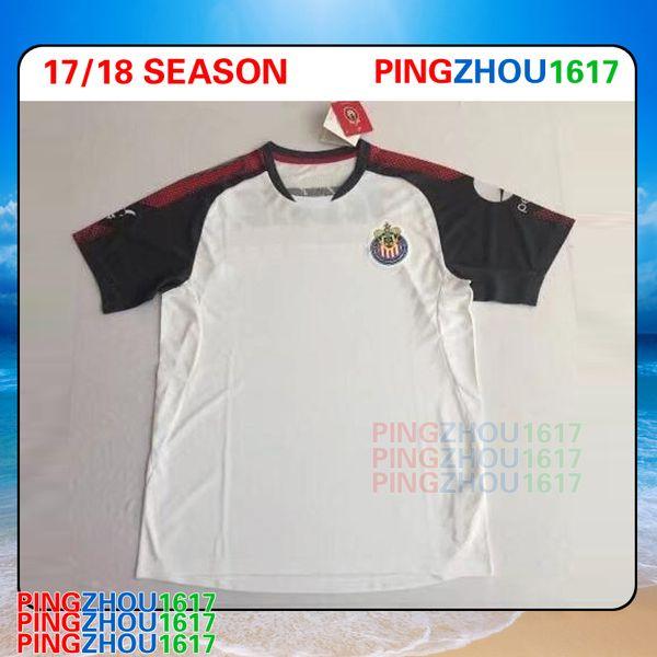 67e6b602 S-XL 2017 2018 Mexico MX Chivas de Guadalajara Home Soccer Jerseys 17 18  Club