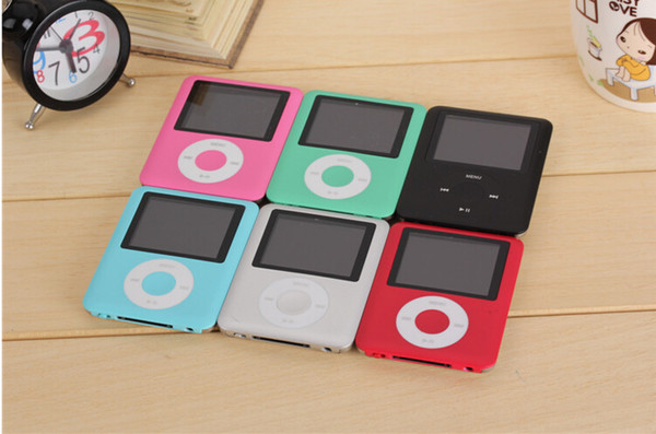 best selling High Quality 20pcs 3TH 1.8 inch 8GB 16GB 32GB MP3 Player Radio FM games mp4 4TH Free shipping