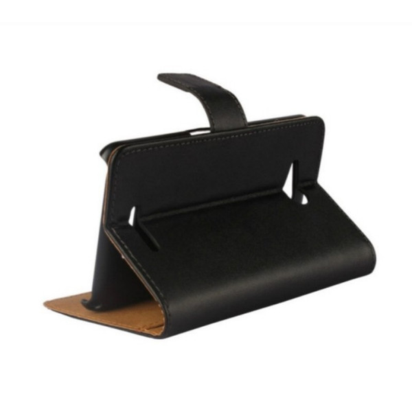 Luxury Genuine Leather Slot Stand Pouch Wallet Cover Case for Sony Xperia E4g E2003 with ID Card HolderPhone Bags