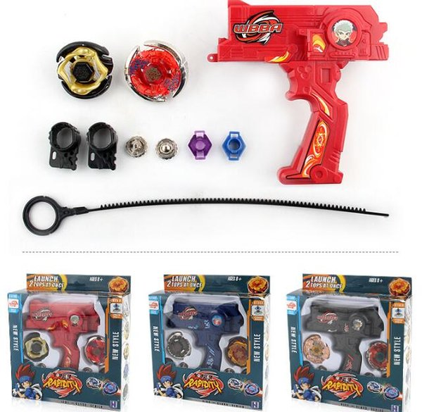 New Clash Beyblade Metal Fusion Plastic Beyblade Spinning Tops/Gyro Set Beyblade Spin Top Toy free shipping