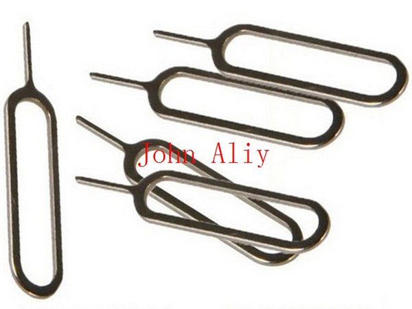 Free shipping SIM Card Tray Eject Ejector Pin Removal Tools Key For Apple iPad iPhone 4 4S 5 5s for Apple Iphone 6