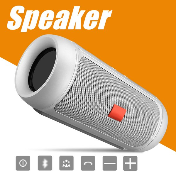 best selling Speakers Bluetooth Subwoofer Speaker Wireless Bluetooth Mini Speaker Charge 2+ Deep Subwoofer Stereo Portable Speakers With Retail Package