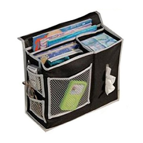 Wholesale- household bed Sofa hanging bedside Storage bag Hang Sundries ,Magazines, remote control,books, phone,Tissue Holder Organizer