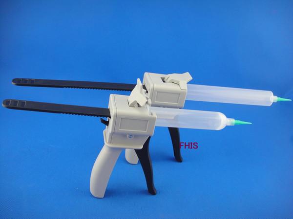 best selling Manually single liquid glue gun 30CC 55cc Common 1PCS + 30CC 55CC cones 1PCS+ Dispensing Tips 1PCS