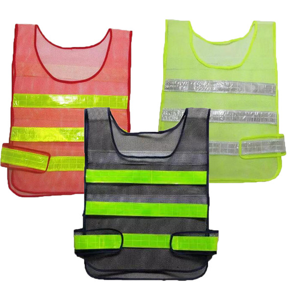 best selling Safety Clothing Reflective Vest Hollow grid vest high visibility Warning safety working Construction Traffic vest