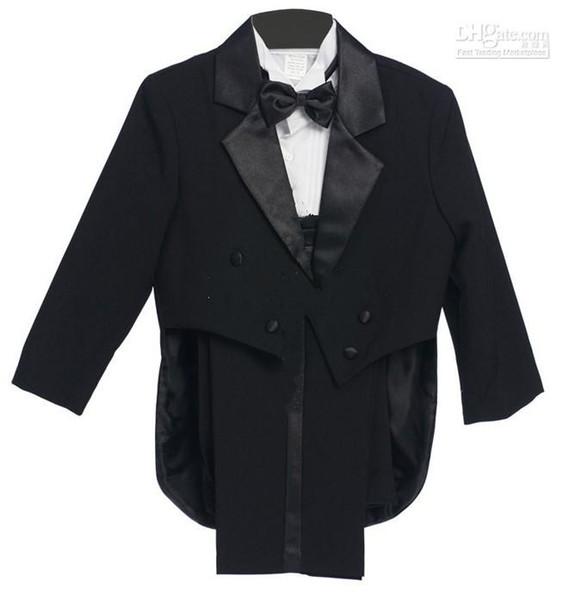 2015 New Arrival Stylish Christmas Wedding Dress Boy Suit Groom Wear & Accessories Boys' Attire Groom Tuxedos(3 pieces/ set)