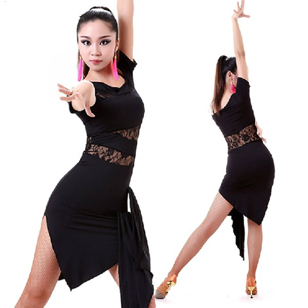 2016 2015 Latin Dance Dress Women Salsa Performance Dresses ...