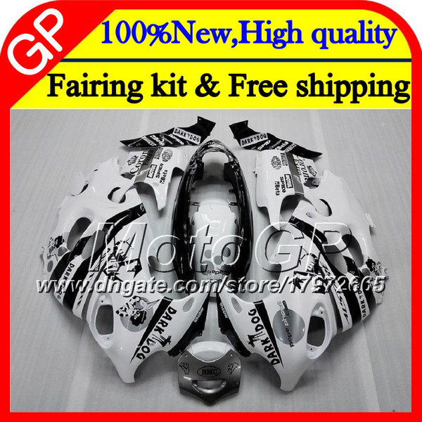 Body For SUZUKI KATANA GSXF 600 750 GSXF600 98 99 00 01 02 21GP7 Scorpion white GSX600F GSXF750 1998 1999 2000 2001 2002 Motorcycle Fairing