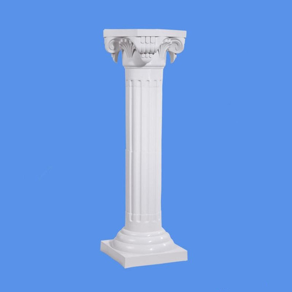 4Pcs/lot White Plastic Roman Columns Road Cited For Wedding Favors Party Decorations Hotels Shopping Malls Opened Welcome Road Lead