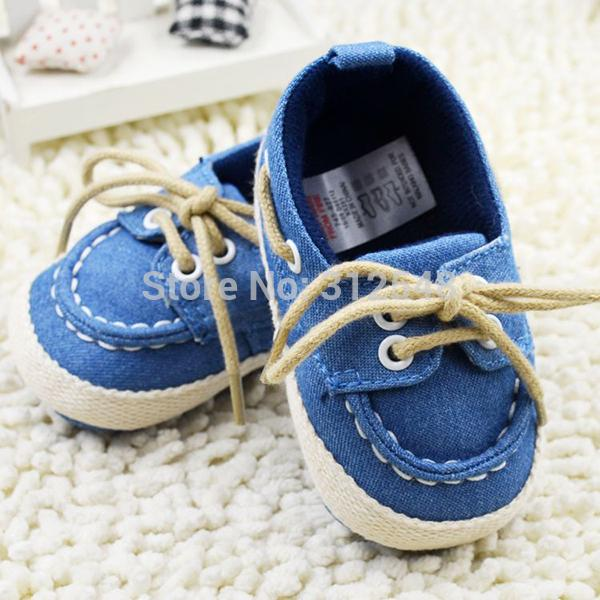 Wholesale- Toddler Baby Shoes Spring Autumn First Walker Baby Boy Girl Soft Sole Crib Shoes Laces Sneaker Prewalker Sapatos 18