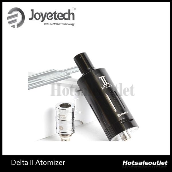 Joyetech Delta II Atomizador Delta II 3.5ml Capacidade 510 Rosca E Cigarro Vaporizador Fluxo de Ar Cig E ajustável Clearomzier 100% Original