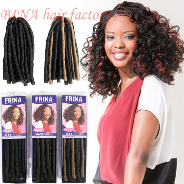 100 Kanekalon Fiber Max Softex Dread Locks Synthetic Braid Hair