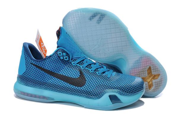 check out a3dde 69c95 Kids Youth Nike Kobe 10 Low Flyknit Kobe Bryant 10 X Basketball Shoes Free  Shipping