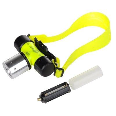 High quality Free shipping Underwater CREE XML T6 Headlamp LED Waterproof 20M Swimming Diving Headlight Dive Scuba Head Light Torch Lamp