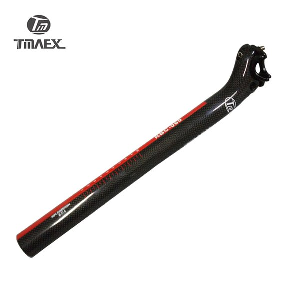 TMAEX-Carbon Sattelstütze 27,2 / 30,8 / 31,6 * 350 / 400mm Carbon Fahrrad Teile Mtb Fahrrad Sattelstütze Straße Zurück Drift Carbon Sattelstütze
