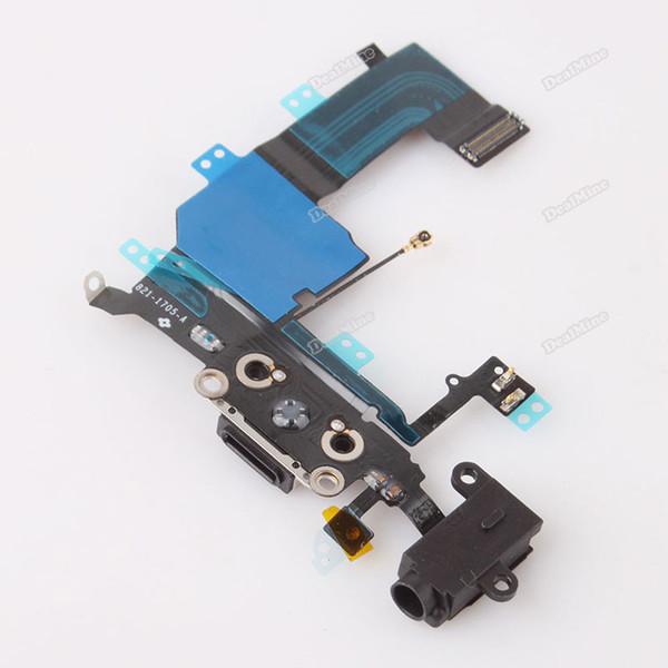 Atacado-Trustmart Perfeitamente! Porta de Conector de Carregamento Flex Cable Repair Parte de reposição para o iPhone 5C 5 C vendável!