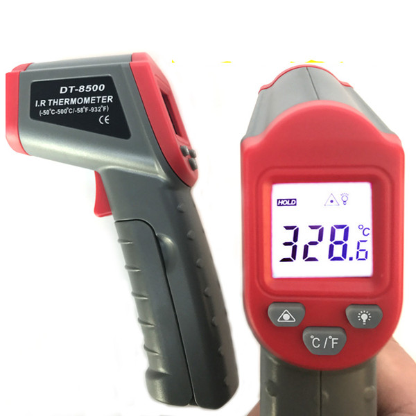 top popular Infrared Thermometer industrial infrared thermometer non-contact temperature thermometer -50-500 degrees 2021