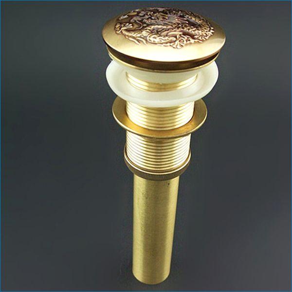 best selling Luxury Antique Brass Basin Drainer,copper Pop Up Waste,basin pop up drain,J14076