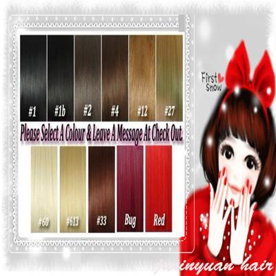 5A - 220g/pc 10pc/set 100% real human hair/lndian hair clips in extensions real straight full head Top Quality