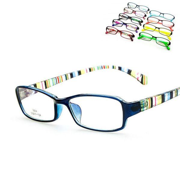 2015 Nuevas gafas de niños para niños Gafas para computadora Marco de gafas óptico Chicas Oculos de grau Para 6-14 años de edad