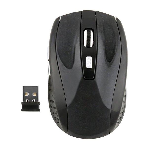 Moda 2.4 GHz USB Mouse Óptico Sem Fio Receptor USB Ratos Sem Fio Jogo Do Computador PC Portátil zx * MHM365 # S8