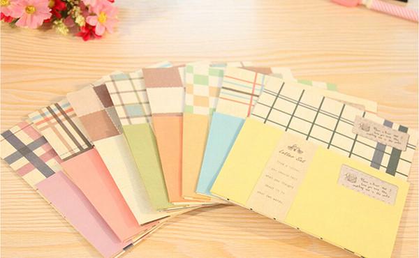 Ücretsiz Kargo / Sevimli Retro kırtasiye zarfları mektup kağıdı / not kağıdı / zarf seti / Kırtasiye / Moda stil / Toptan, dandys