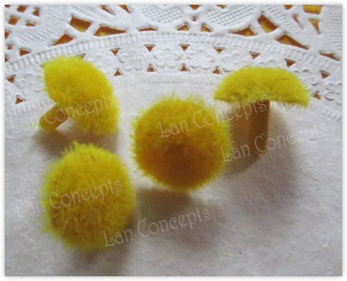1.7 cm Artificiale Girasole Coreopsis Stame per DIY Calza di Nylon Fiore - 100 pz / lotto LFA0046 Commercio All'ingrosso libero di trasporto