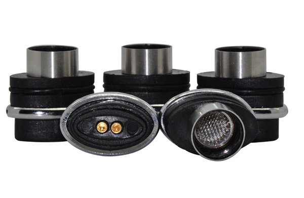 New E cig Atomizer Cartridge Coil for G pen Elips Atmo,Cloud Vape Wax Oil Screen 5 Pcs