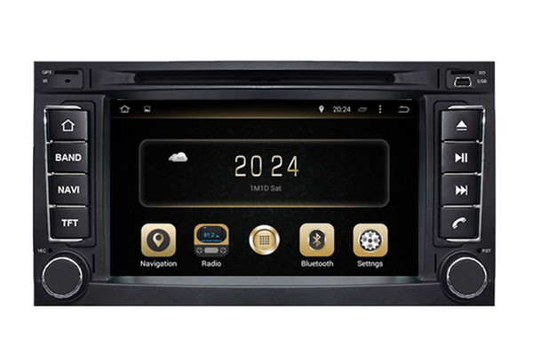 Android 7.1 Car DVD Player GPS Navigation for VW Volkswagen Touareg 2002-2010 with Radio BT TV USB SD Auto Audio Stereo WIFI