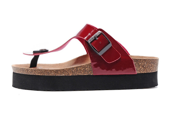 HOT Free Shipping Fashion man and woman High heels Sandals Platform, Cheap Summer Slippers Home, Casual Beach Sandals