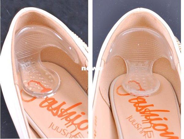 Задняя нога невидимым силикагель наклейки прозрачные скольжению ноги обувь наклейки, высокий каблук обуви колодки стельки уход за ногами