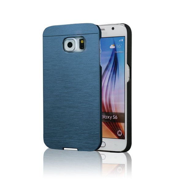 Note5 Motomo Hard PC Aluminum Metal Brush Case For Samsung Note 5 S6 Edge Plus Grand Prime G530 Core G360 A8 MOTO G G2 G3 ASUS Zenfone2 5.5