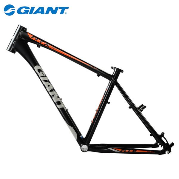 "2015 New GIANT 26"" Mountain Bike MTB Frame ATX PRO ALUXX Aluminum FluidForm Bicycle Parts Size Size M 18"" Matt Black"