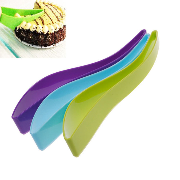New Cake Pie Slicer Sheet Eco-Friendly Cutter Server Bread Slice Knife Kitchen Gadget kitchen knives cooking tools free shipping TY678