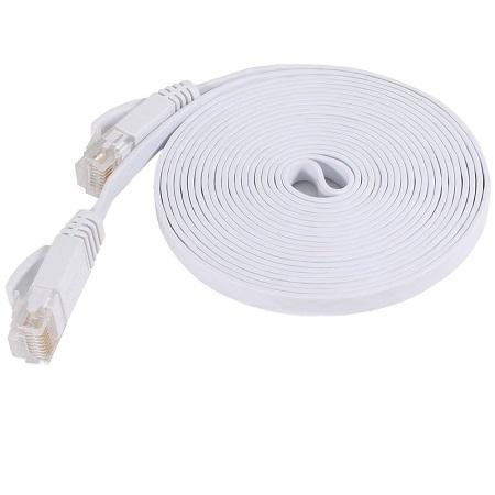 500PCS/lot 1.5m 5ft CAT6 Flat UTP Ethernet Network Cable RJ45 Patch LAN cable high quality brand Professional production factory