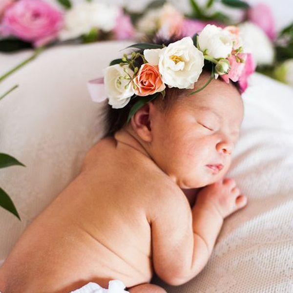 1pc New Girlsrose Flower Headbands Crown for Girl Hair Accessories Bebes Photo Props Girls Kids Birthday Hair Accessories Boho Garland