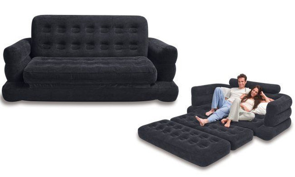 Marvelous 2019 Inflatable Pull Out Sofa Mattress Sleeper Queen From Xiangxing668 52 26 Dhgate Com Caraccident5 Cool Chair Designs And Ideas Caraccident5Info
