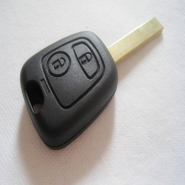 With HU83 Blade 2 Buttons Remote Car Key for Citroen C1 C2 C3 C4 Xsara Picasso Car Key Shell Replacement