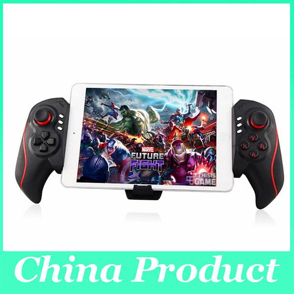 Hot BTC-938 Wireless Game Controller Telescopic Joystick Gamepad for Android Tablet PC TV Box Smartphone 010210