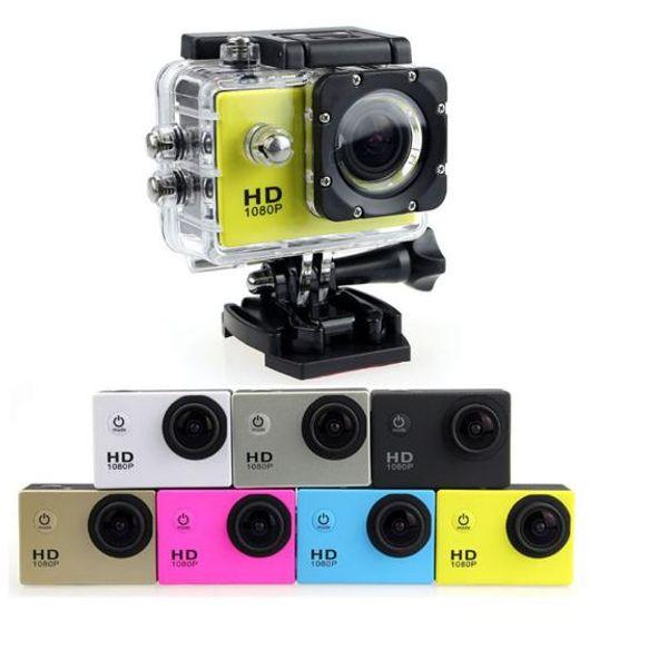 best selling 2020-hot Waterproof D001 2 Inch LCD Screen SJ4000 style 1080P Camcorders SJcam Helmet Sport DV 30M Action Camera 20PCS